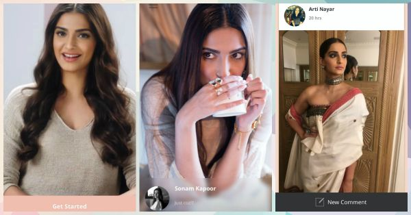 We Tried Sonam's New App... Here's Why You Need To Get It!