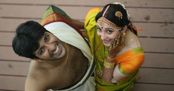#Aww: Young Love Leads To A Magical Tam-Brahm Wedding!