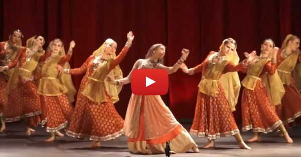 This Dance Performance On Deewani Mastani Will Make You Go WOW!