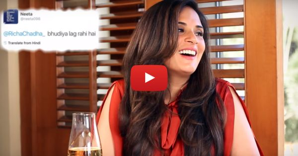 Richa Chadha's Response To Mean Comments Is PERFECT!