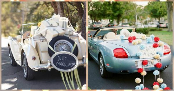 The Cutest Ways To Dress Up The Vidaai Car (Not Just Flowers!)