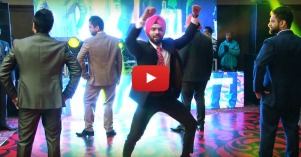 This Groom & His Friends Danced For The Bride - And It's AWESOME