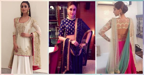 8 Gorgeous New Ways To Drape Your Lehenga Dupatta!
