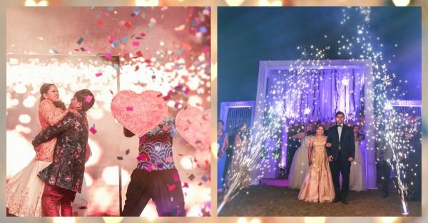"""10 Ideas For An AMAZING """"Couple Entry"""" At The Reception!"""