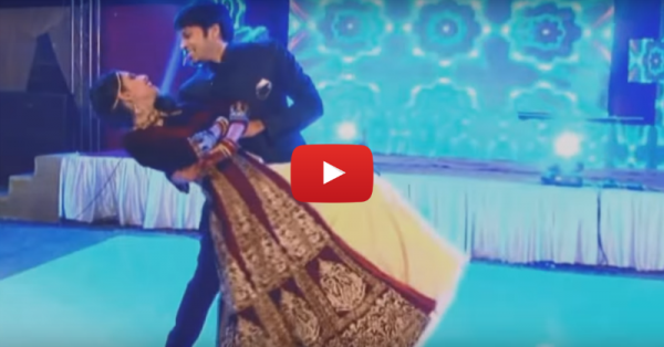 #Aww: They Exchanged Rings… While Dancing Together!