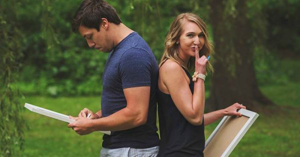 This Girl Told Her Husband Their BIG News In The Sweetest Way!
