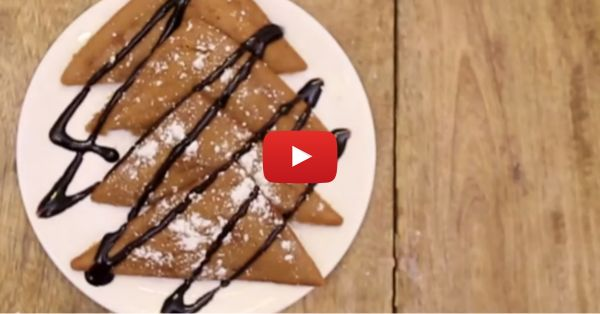 How To Make A YUMMY Parle G Pancake In A Toaster!