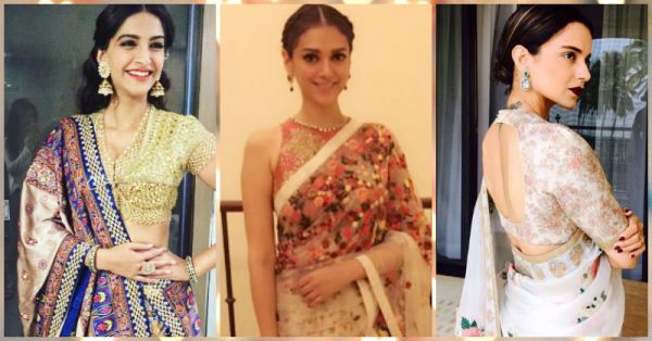 10 Celeb Inspired Blouses To See You Through Shaadi Season!
