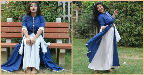 #FashionDiaries: I Turned My Mom's Saree Into A Gorgeous Dress!