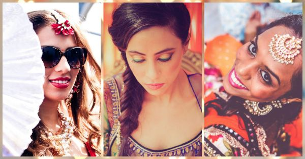 7 Brides With The Prettiest Makeup To Inspire Your Mehendi Look!