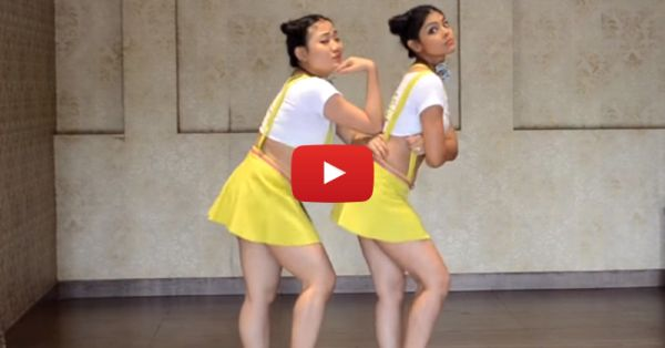 "2 Indian Girls Belly-Dance On ""Uptown Funk"" - This Is AWESOME!"