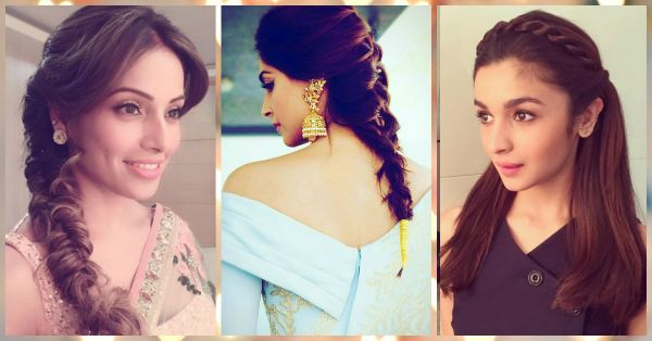 Love Braids? 7 Celeb Hairstyles To Inspire Your Mehendi Look!