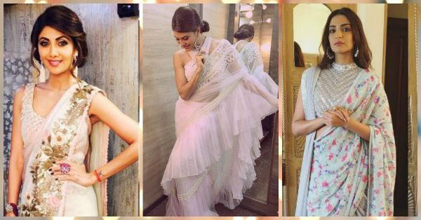 10 different Saree Draping Styles To Stand Out At All Those Shaadis!