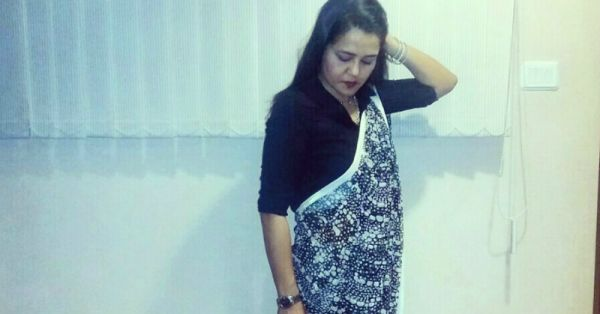 #FashionDiaries: How I Styled My Saree With… A Shirt!