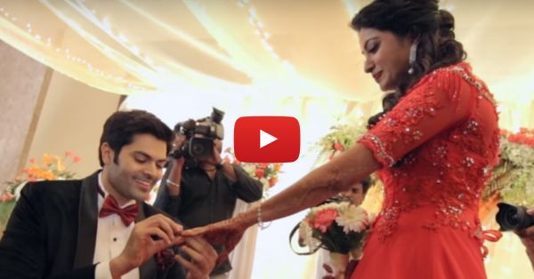 This Actor's Flashmob Dance For His Bride-To-Be Is SO Adorable!