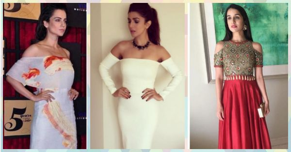 10 Off-Shoulder Looks We Want To Steal From Our FAV Celebs!