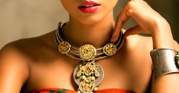 #ShaadiStyle: 15 Labels With *Gorgeous* Semi-Precious Jewellery