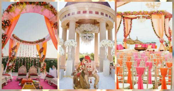 21 Wedding Mandap Designs That Are Perfect For Your Special Day!