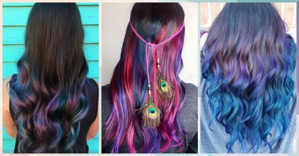 This Hair Colour Trend For Dark Hair Is Just. So. GORGEOUS.