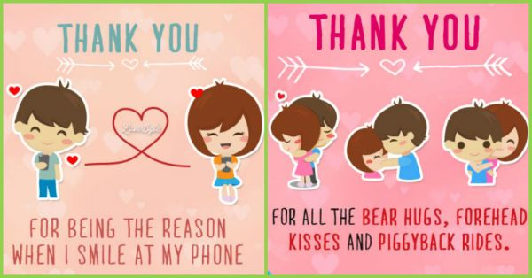 Dear Boyfriend, Thank You For ALL These Sweet Moments...