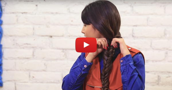 How To Make The Perfect Fishtail Braid In 6 Easy Steps!