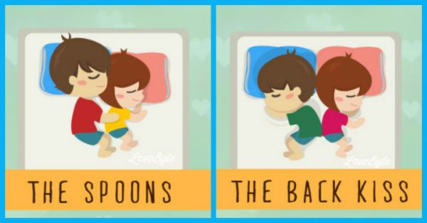 How You Sleep With Bae & What It Says About Your Relationship!