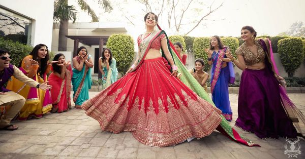 Brides Who Wore Stunning Lehengas In 2016 - Our Top 10 Picks!