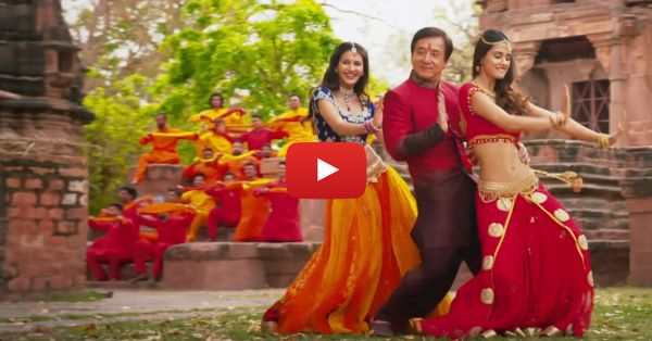 Disha Patani Dances With… Jackie Chan! (This Song Is AWESOME)