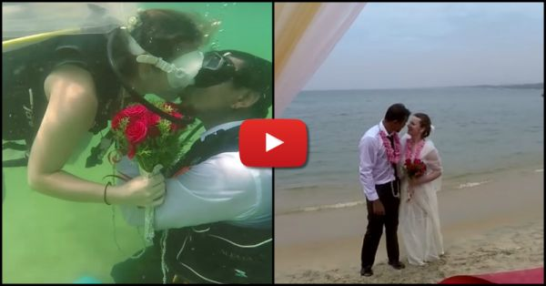India's First *Underwater* Shaadi… This Is Just MAGICAL!