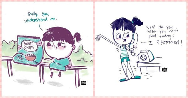 10 Truths Of A Girl's Life… In The CUTEST Illustrations!