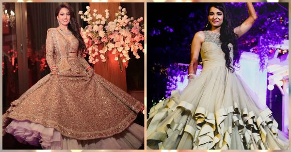 10 Brides Who Wore The Most *Gorgeous* Reception Outfits!