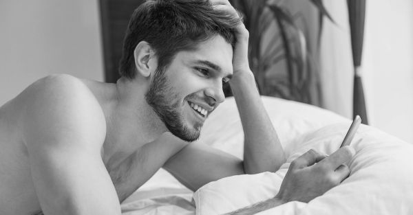 #HeSays: What Your Guy Thinks When You Send Him A *Nude* Pic!
