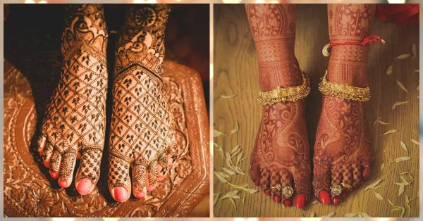 The Prettiest Bridal Mehendi Designs For Your Feet… You'll LOVE!