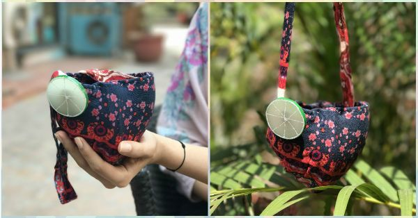 #FashionDiaries: I Made A Makeup Bag… With My Old Bra!