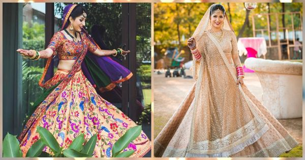 10 *Stunning* Bridal Lehengas We Spotted This Year… NOT Red!