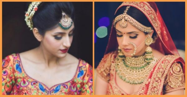 10 Brides Who Wore Traditional Yet *Edgy* Bridal Jewellery!