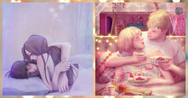 7 Sweetest And Cutest Moments Of Love Illustrated!