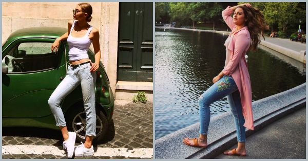 Return Of The Low Waist Denim & How To Wear The Trend!