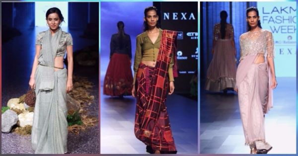 7 *New* Ways To Add A Modern Twist To Your Traditional Saree!