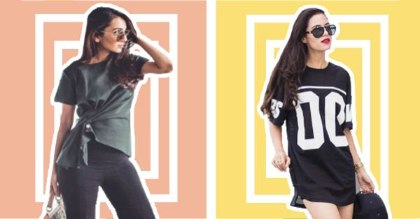 7 *Unconventional* Ways To Wear That Oversized T-Shirt!