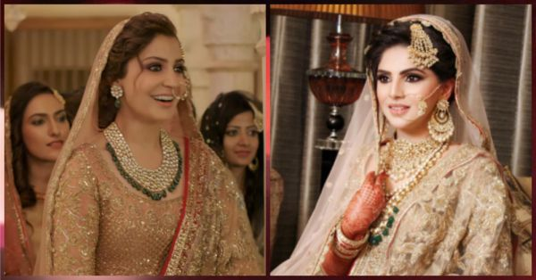 This Bride Dressed As Anushka Sharma & We Can't Even...