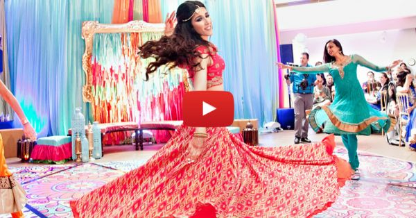 This Bride's Bollywood Style Dance On Her Sangeet Is The Best Thing You'll See Today!