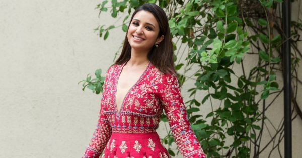 Parineeti Chopra Looks Like A *Doll* In This Anita Dongre Outfit!