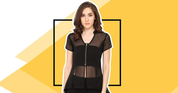 5 Common Mistakes Girls Make When Wearing A Sheer Top