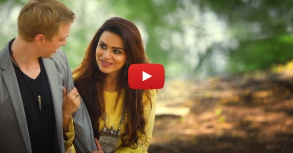 After A Romantic Pre-Wedding Shoot, Aashka-Brent Starred In A Music Video & It's Adorable!
