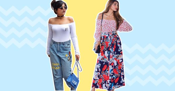 6 Ways To Style Your Off Shoulder Top In The Winter!