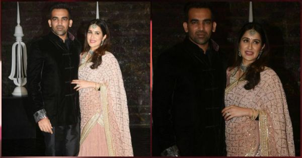 Zaheer Khan and Sagarika Ghatge's Reception Was A LIT Affair & The Pics Are Proof!