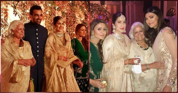 Zaheer & Sagarika's Star Studded Reception Party Was LIT & The Pics Say It All!