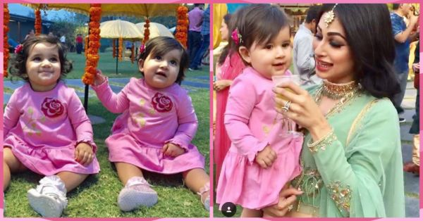 Mouni Roy's Cute Moments With Karanvir Bohra's Babies Is Every Maasi EVER