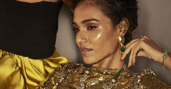 Party Ready Beauty Looks Inspired by POPxo Fashion's High Voltage Cover
